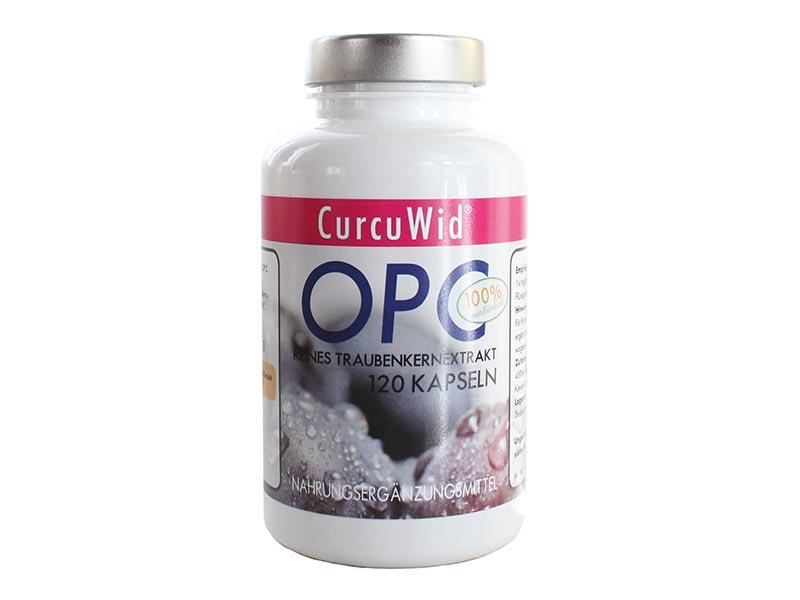 OPC Traubenkernextrakt 450 mg / 290 mg Reines OPC / 4 Monatsvorrat | Ohne Zusatzstoffe | Natürliches Antioxidans / Vegan