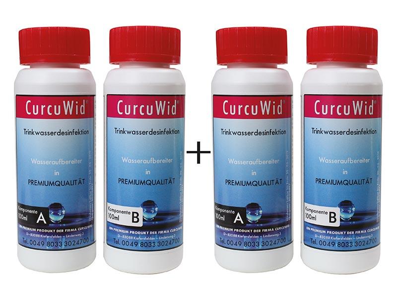 Natriumchlorit 25% + Salzsäure 4% Set 2x100ml zum Mega-Preis! In HDPE Flaschen mit Tropfer.