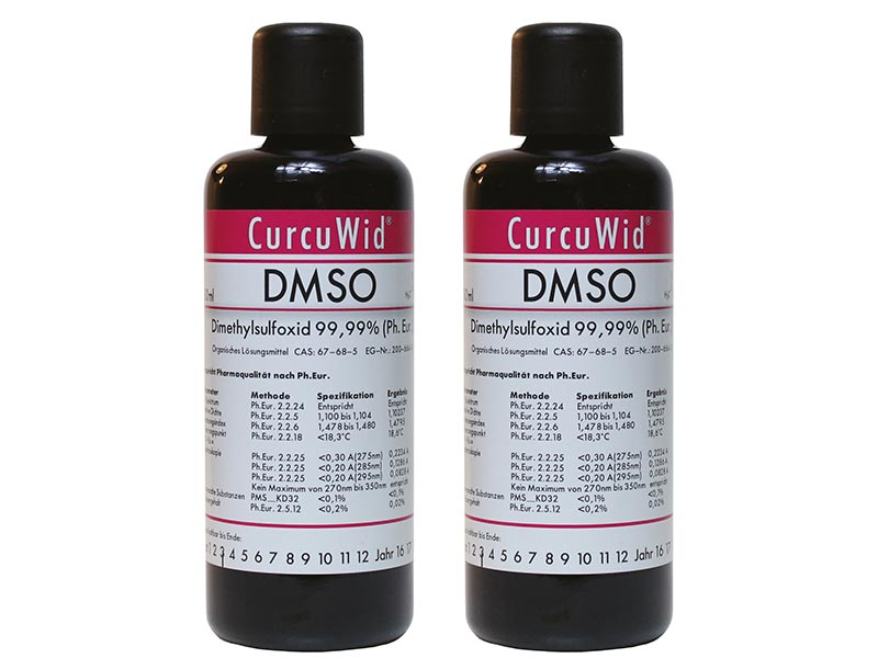 2 x Dimethylsulfoxid DMSO 100ml