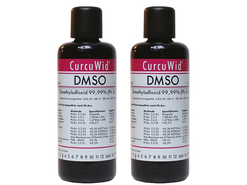 2 x Dimethylsulfoxid DMSO 100ml